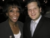 LA County District Attorney Jackie Lacey with Ari Friedman