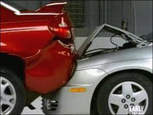 Rear-End Collision Photo