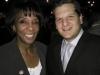 LA County District Attorney Jackie Lacey with Ari Friedman