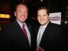 Long Beach PD Chief Jim McDonnel with Ari Friedman
